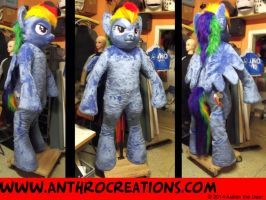 RD Suit Pony Horse Costume Fursuit by AtalontheDeer