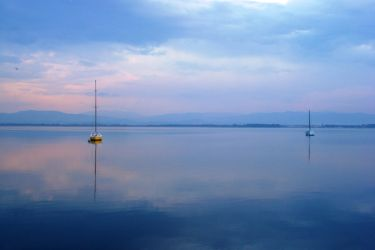 two boats by Polin-Sam