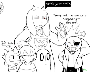 Undertale - Naughty pun by KGN-000