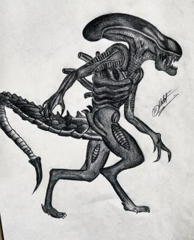 Alien by DiegoCarmine118