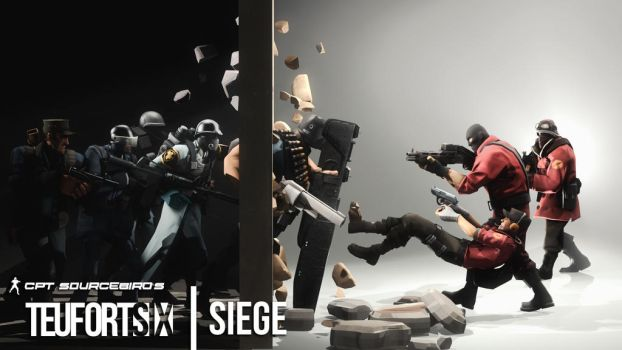 Teufort Six: Siege by Cpt-Sourcebird