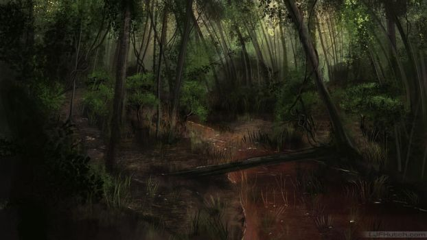 Forest Stream Speed by LJFHutch