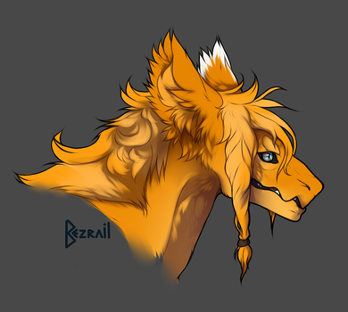 Just hair by Bezrail