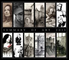 Summary of Art 2013 by AncientKing
