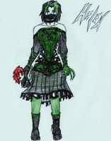 green goth by X-Alison-X