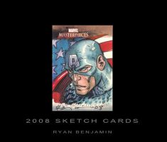Captain America Card by ryanbnjmn