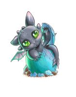 Toothless by uialwen
