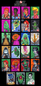GhostBusters Sketch Cards - 03 by SeanRM