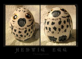 Hedwig Egg by thedustyphoenix