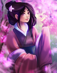 Disney Princess/Heroine - Mulan by Kachumi