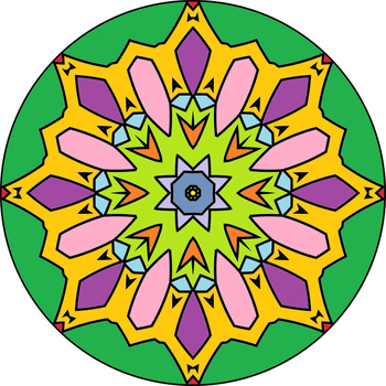 Mandala version1 by MichaFire