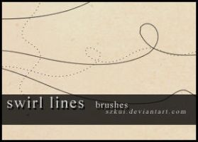 swirl lines, brushes by szkui