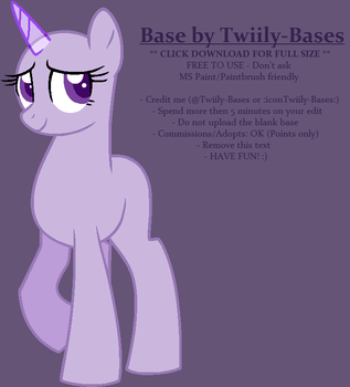 MLP Base 351 by ShiiBases
