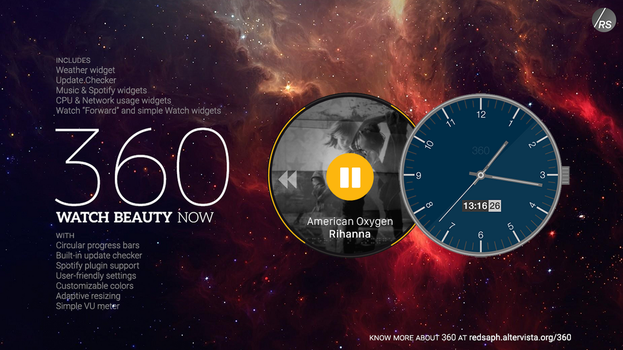 360 for Rainmeter [v4.3 | 16/May/2015] by Redsaph