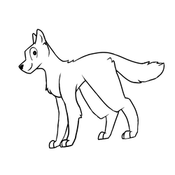 Free to Use Dog/Wolf Base by BubblyMint