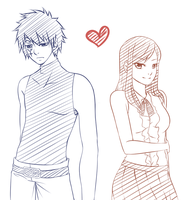 Fairy Tail: Gerard and Erza by UchiHaruno