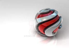 Spiral ball - wallpaper by egresh
