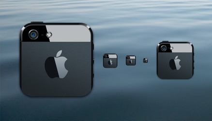 iPhone 5 dock icon by balderoine