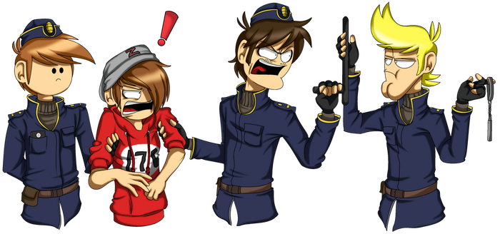 Best Officers Ever! by PolisBil
