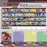 Super Smash Bros. (Wii U/3DS) Roster (8/13 Update) by shadow0knight