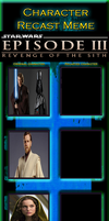 Star Wars Episode III: Revenge of the Sith Recast by MarioFanProductions
