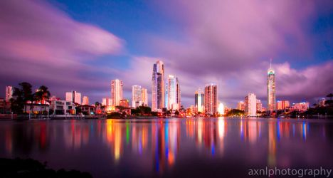 City of Light Colour by AXNLphotography