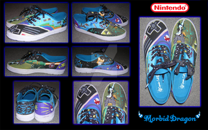 Nintendo Shoes by ToastedBoots