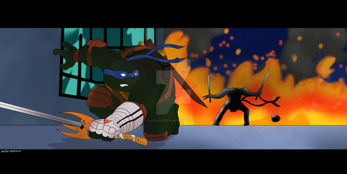 TMNT 2k3: Screencap Redraw: Scene :S01 Ep23 part3 by AutoTFNT979