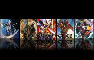 CardFight Vanguard Dimension Police Unit by ShadowMan88