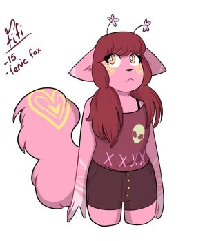 Fifi  (adopted oc) by That-oneartist