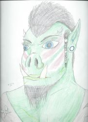 Orc by Sexy-Slender-Dragon