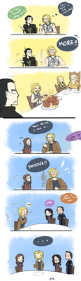 Midgardian Lessons: Manners by blargberries