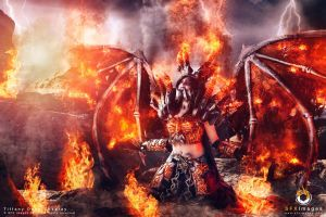Deathwing Cosplay - WoW Cataclysm - Zach Fischer by BabyGirlFallenAngel