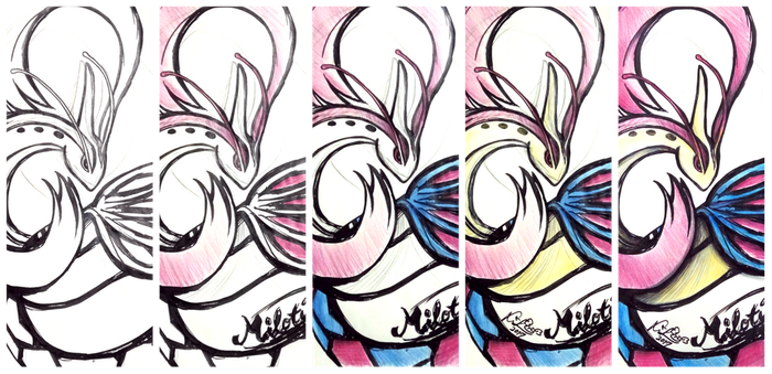 [WIP] Will to Protect : Milotic by firekyuubisasuke