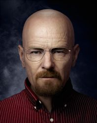 I AM THE DANGER - Walter White portrait by MarkVano
