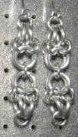 Chainmaille Earring 38 by Des804