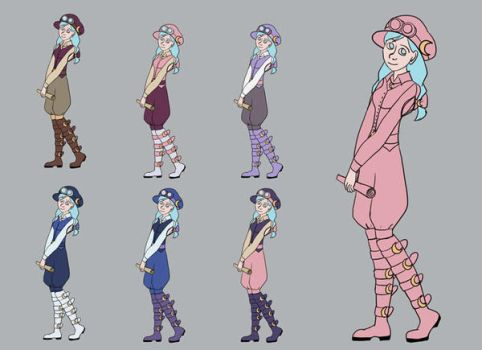Character Design by SpaceCaseMeg
