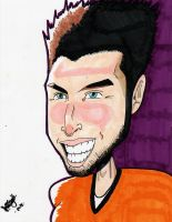 Tim Tebow Sketch by DaveKennedy