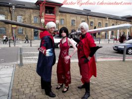 London MCM: Nero, Ada and Dante by MasterCyclonis1
