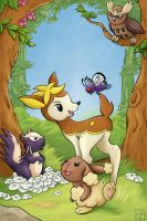 Movies With Pokemon - Bambi