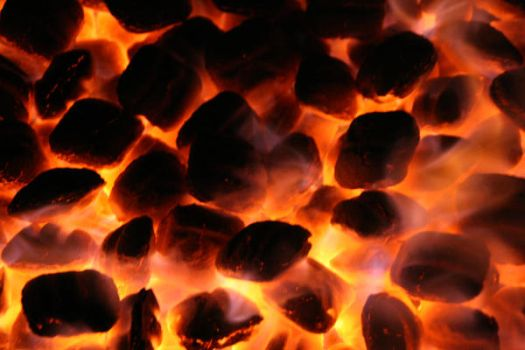 Hot coals stock by MysticalLibra