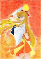 Sailor Venus by JennieLuv