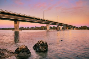 Estuary Bridge Mandurah by StachRogalski