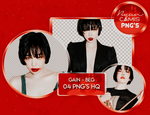 [PNG PACK #126] GAIN (BROWN EYED GIRLS) by fairyixing
