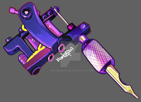 I need a tattoo machine by artmunnn