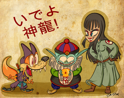 Pilaf and Cronies by HoekKadoogen