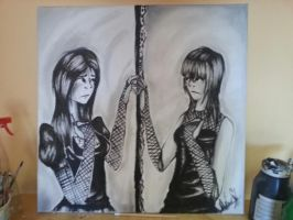 Two sides by AlexMercer-Sara123