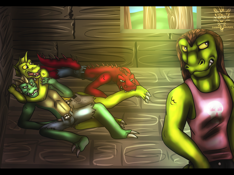 Nightriders Revenge of the Sewer Rats Part 10 by AxlReigns