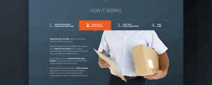 How it works FREE PSD TEMPLATE by tempeescom