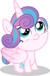 Mlp Fim Flurry Heart (happy) vector by luckreza8